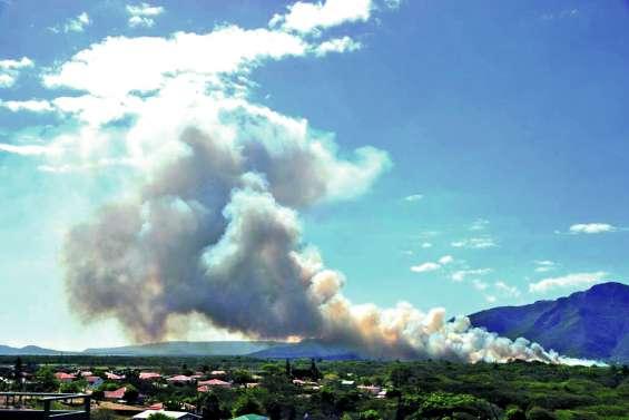 Série d'incendies sur la côte Ouest