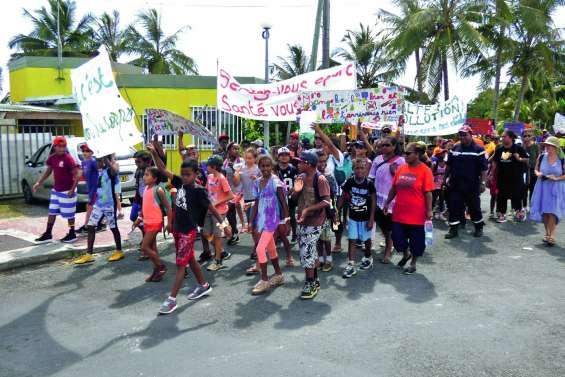 Les écoliers ont bougé pour l'environnement