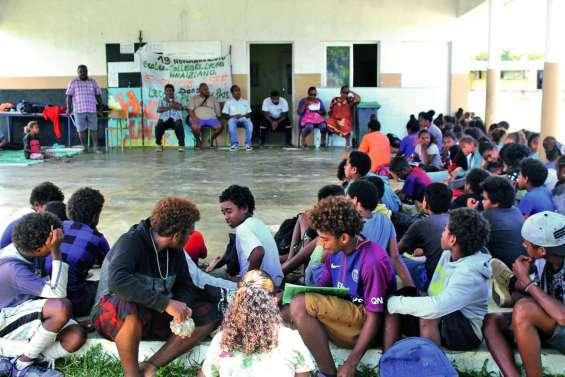L'établissement scolaire de Hnaizianu a affiché son soutien à l'Asee