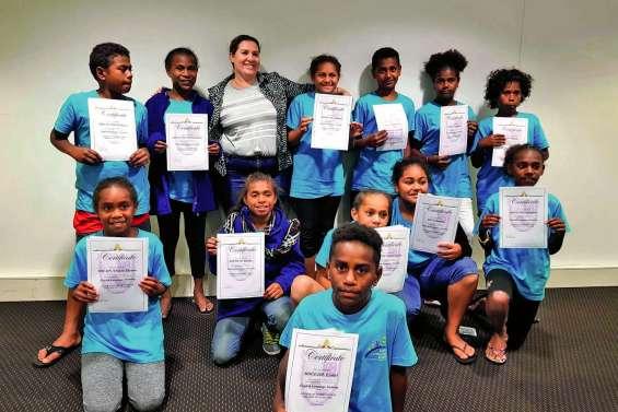 Les CM2 de l'école de Bondé sur la Gold Coast
