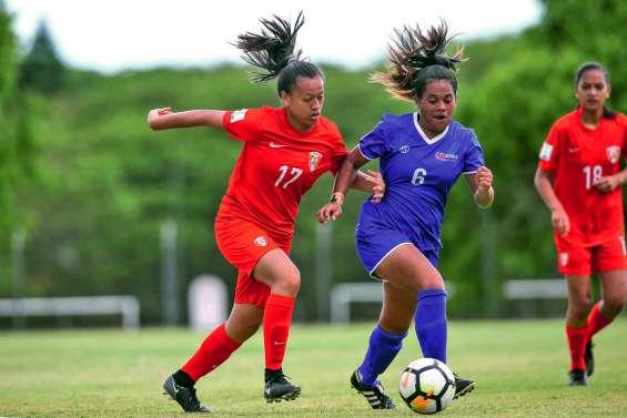 Le football féminin tahitien retrouve des couleurs