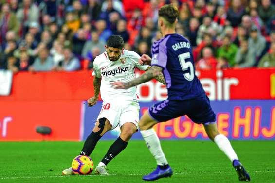 Le Séville FC nouveau leader d'une folle Liga