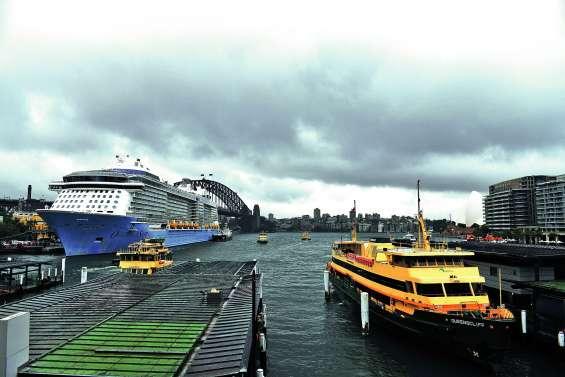 Un déluge d'eau sur Sydney