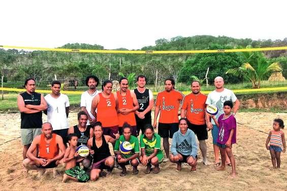 Du beach-volley à Kejaon malgré la météo