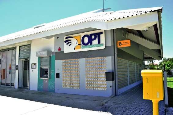 Presque un sans-faute pour la nouvelle agence OPT de Tontouta