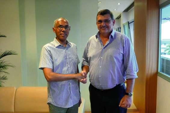 Rencontre avec l'ambassadeur de France au Vanuatu