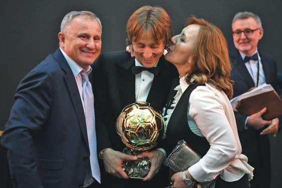 Luka Modric Ballon d'Or 2018 devant Ronaldo et Griezmann