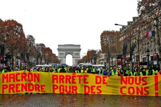 La « haine » contre Macron, moteur de la contestation