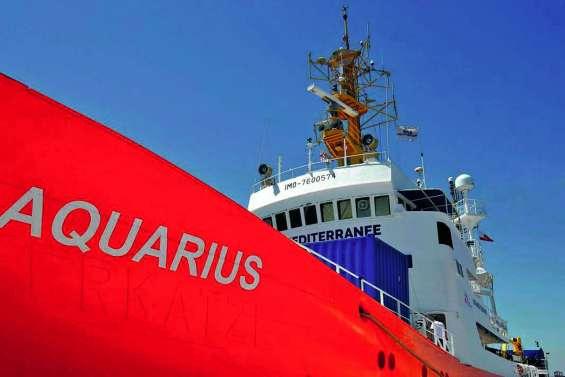 MSF et SOS Méditerranée vont « mettre un terme » aux activités de l'Aquarius