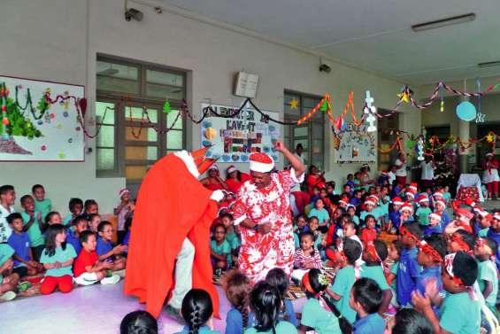 En attendant le père Noël, les petits  de Cluny fêtent saint Nicolas