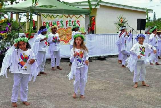 L'école de Punyi en fête à Wanap