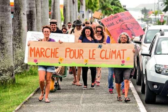 Plus de 70 marcheurs alertent sur l'urgence climatique