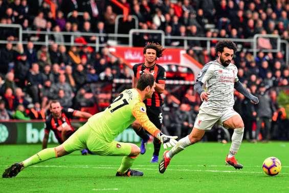 Mohamed Salah mène Liverpool au sommet