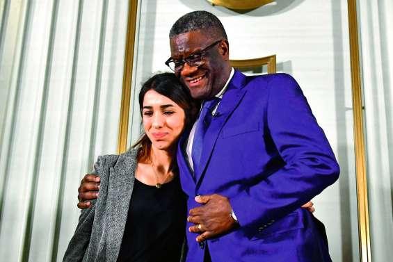 Violences sexuelles : Murad et Mukwege reçoivent le Nobel