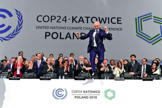 COP24 : l'accord de Paris sur les rails, mais sans ambitions nouvelles