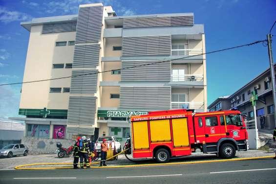 Un incendie ravage un appartement rue Bénébig, à Nouméa