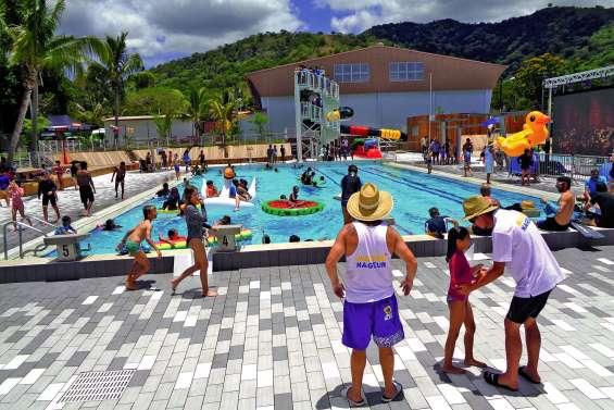 Le centre aquatique de La Foa est ouvert