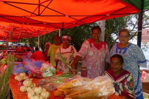 Le marché qui fait l'affaire des femmes rurales