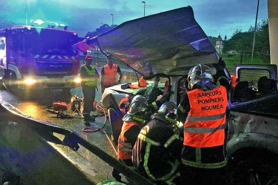 Un accident sur la Savexpress a provoqué la fermeture de l'axe