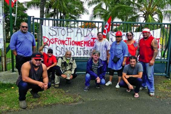 Un piquet de grève pour dénoncer  des dysfonctionnements au CHS de Nouville