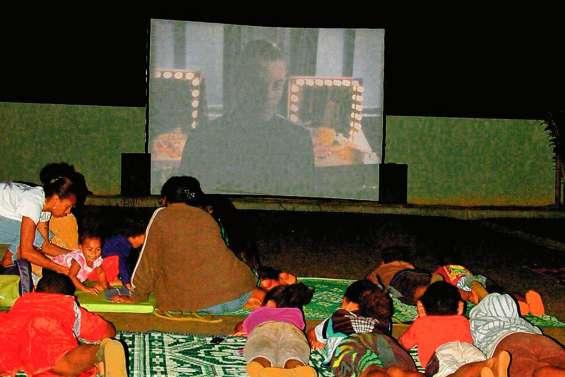 Le cinéma s'invite en Brousse  pendant les grandes vacances