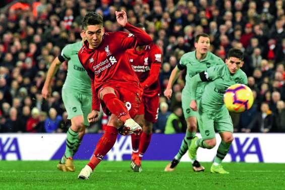 Liverpool corrige Arsenal