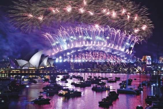 Le tour du monde du Nouvel An