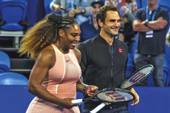 Federer l'emporte sur Williams dans un double mixte
