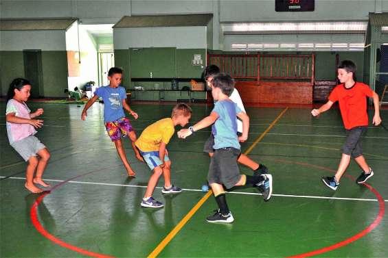 Des grandes vacances actives  avec la Caisse des écoles