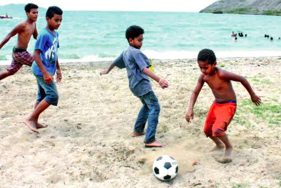 Premier Païta plage mercredi à la baie Toro