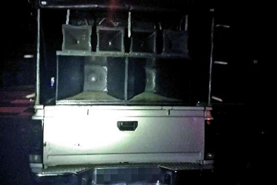 Un véhicule confisqué après une agression sonore