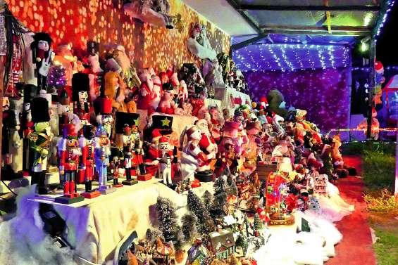 Le refuge du père Noël s'est éclairé jusqu'à hier soir
