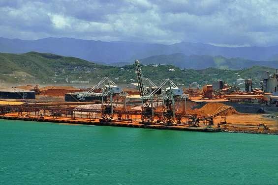 Un stock de minerai à Doniambo très bas