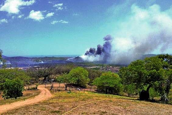 Plus de 1 000 hectares dévastés à Koumac