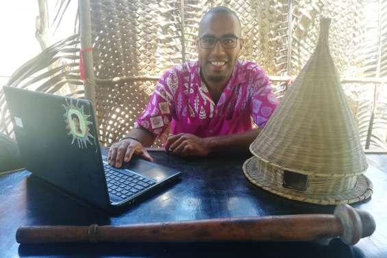 Karyl Koindredi, jeune promoteur de la langue drubea en terre de Païta