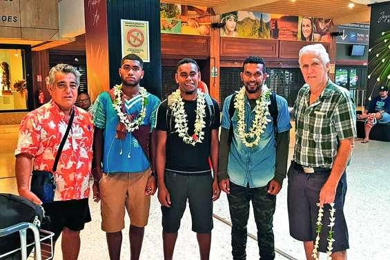 Trois Cagous filent à Tahiti pour la O'League