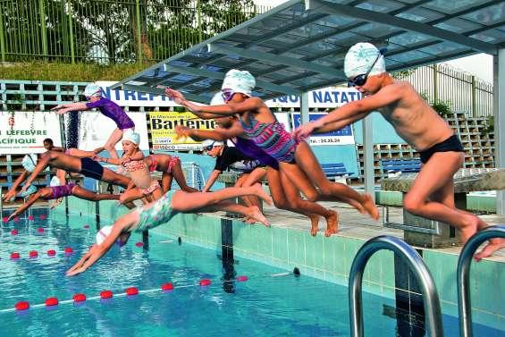 Première semaine  pour apprendre à nager