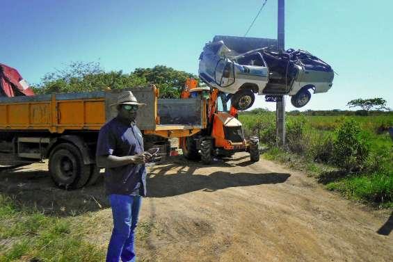 La chasse aux épaves de voiture