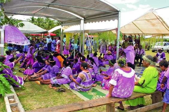 Un grand rassemblement  des familles Iwejica et Wapaé