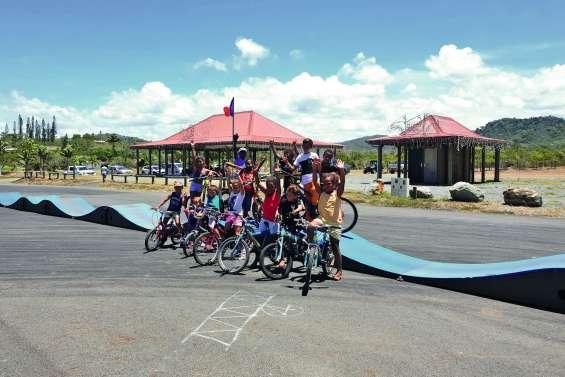 Une journée pumptrack pour les enfants de la commune