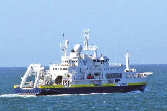 L'Atalante en route vers Nouméa