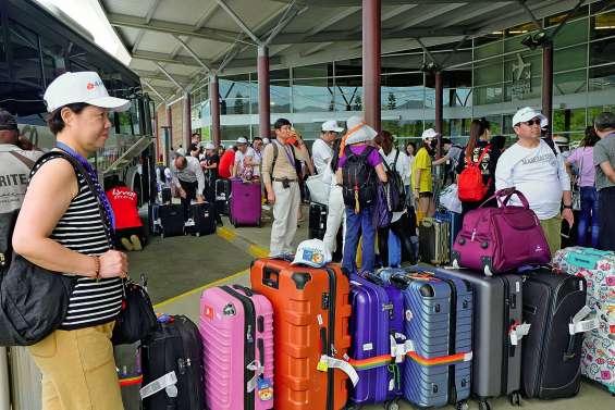 258 touristes chinois ont débarqué en Calédonie