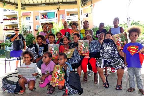 La Sic distribue cinquante cartables avant la rentrée scolaire à Pierre-Lenquette