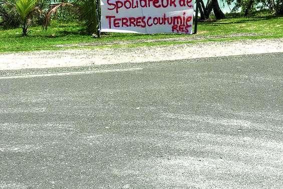 Conflit autour  du foncier de l'hôtel Beaupré, à Ouvéa