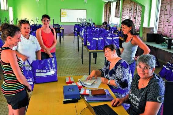 La distribution des fournitures scolaires a débuté