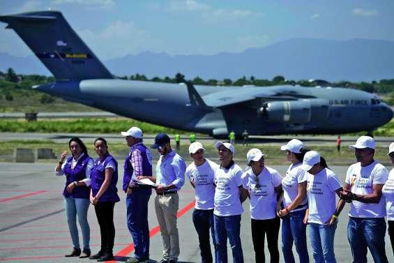 Nouvelle arrivée d'aide des Etats-Unis en Colombie