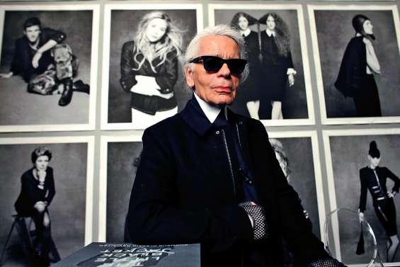 L'univers de la mode pleure le génial Karl Lagerfeld