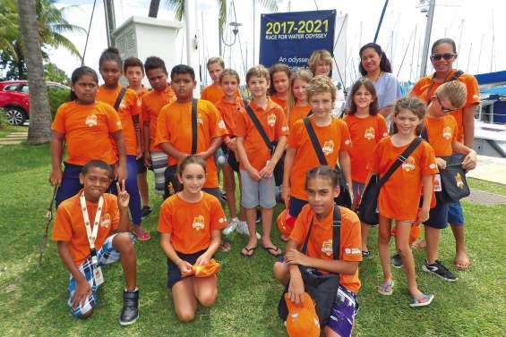 Les conseillers municipaux juniors émerveillés par le Race for Water