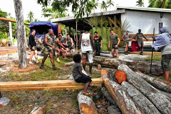 Le Rimap-NC en immersion  à la tribu de Vao