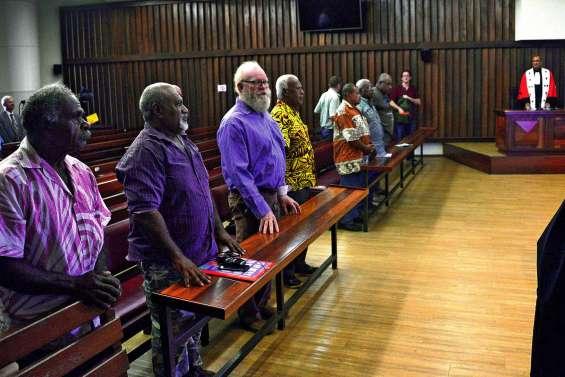 Sept nouveaux assesseurs coutumiers prêtent serment